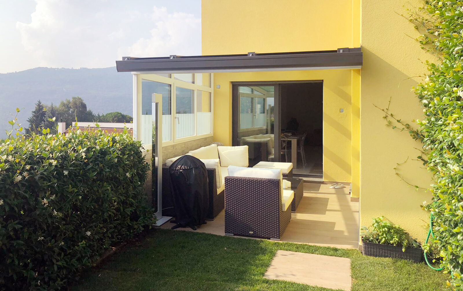 nuova veranda chiusa finextra como