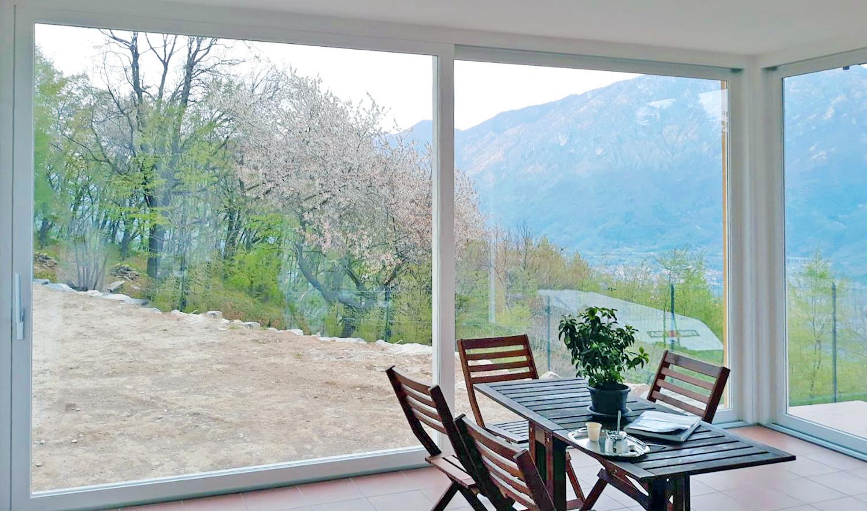 Serramenti vetrate alzanti scorrevoli